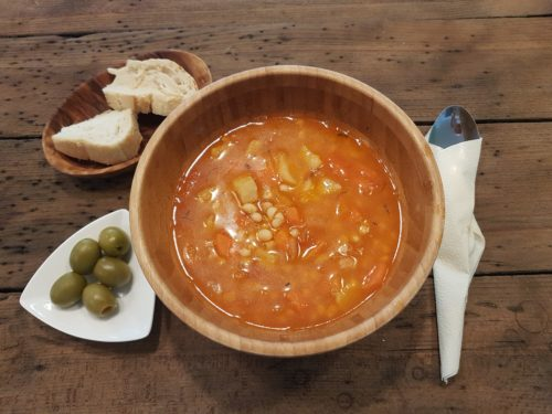 Fasolada Suppe traditionell Griechisch